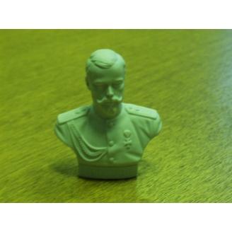 Скульптура бюст Николай II.