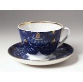 "Чашка с блюдцем чайная ""Кружевница"" форма Весенняя"