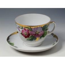 """Чашка с блюдцем чайная """"Надежда"""" форма """"Подарочная"""""""
