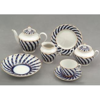 """Сервиз чайный """"Тодес"""" форма """"Весенняя"""" на 6 персон 20 предметов."""