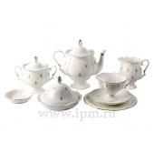"""Сервиз чайный """"Петельки"""" форма """"Наташа"""" на 6 персон 30 предметов"""