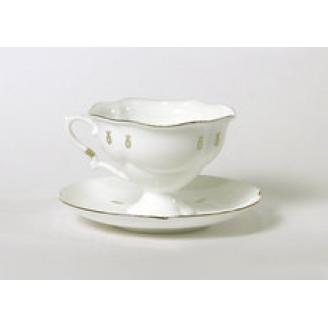 """Чашка с блюдцем чайная """"Петельки"""" Форма """"Наташа"""""""