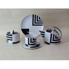 """Сервиз чайный """"Угол отражения"""" форма """"Баланс"""" на 6 персон 20 предметов."""