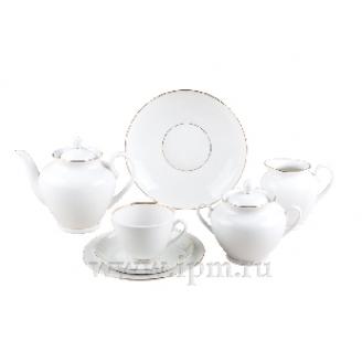 """Сервиз чайный """"Белоснежка"""" форма """"Весенняя"""" на 6 персон 22 предмета"""