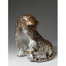 """""""Леопард"""" скульптура"""