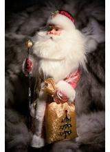 """Кукла новогодняя """"Дед Мороз"""" Н=33 см"""