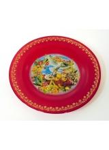Тарелка 260мм пасхальная с художественной росписью
